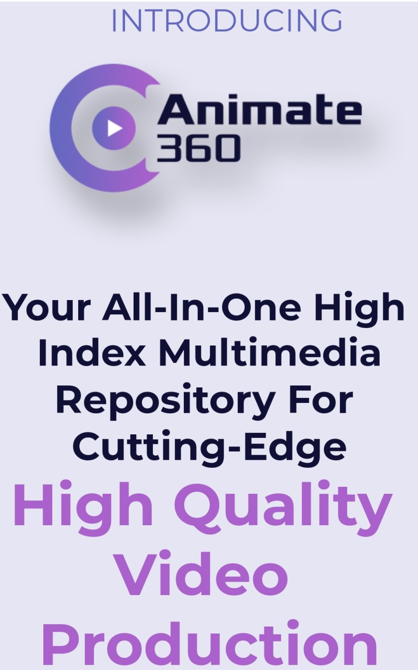 Animate 360: This Will Change Video Marketing Forever!